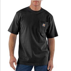 Carhartt Black Short Sleeve Pocket T-Shirt